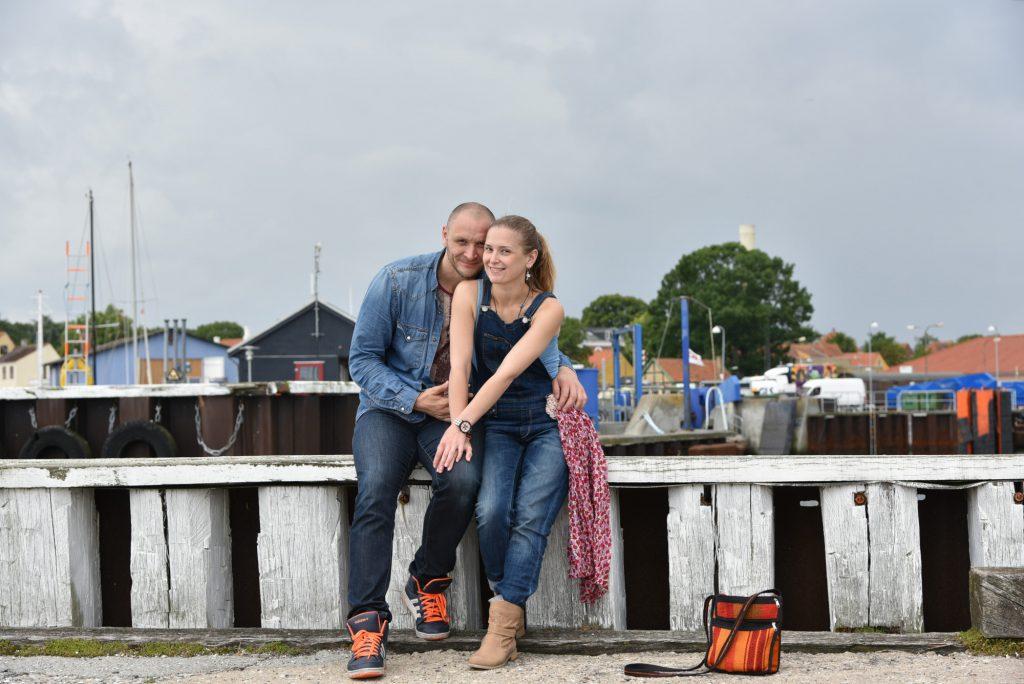 Hochzeit in Dänemark, Marcus Hanke und Lissy Mileshenko